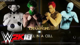 Cr1TiKaL (penguinz0) Stream Oct 23rd, 2017 [WWE 2K18]