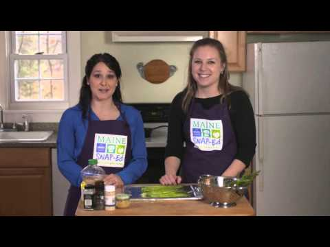 Youtube Screenshot for Easy Roasted Asparagus Recipe Video