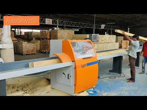 Mild Steel Wooden Block Cutting Machine