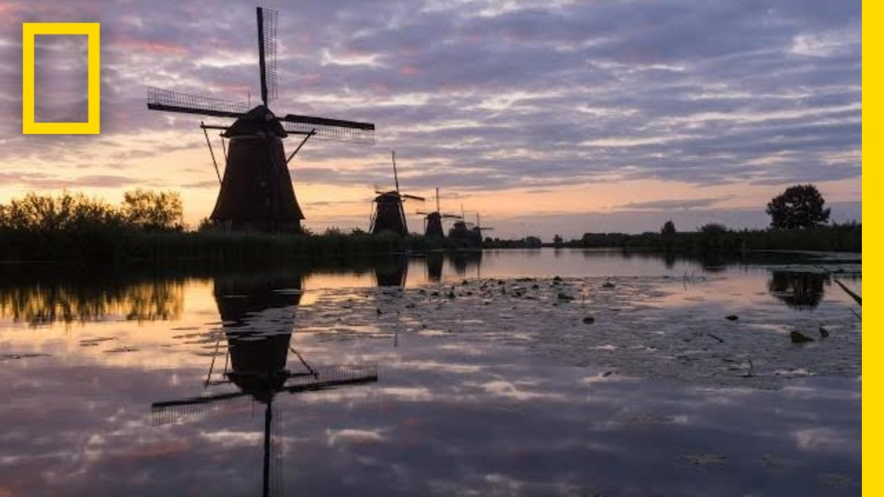 These 300-Year-Old Dutch Windmills Are Still Spinning Today | National Geographic thumbnail