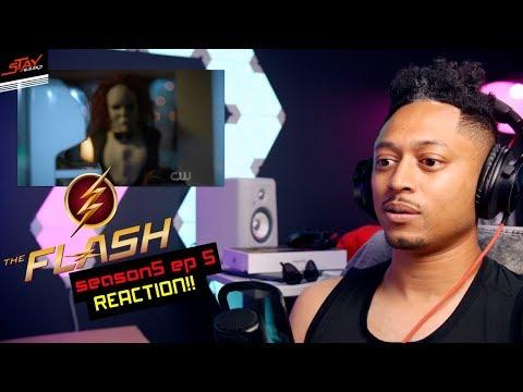 The Flash Season 5x05 RagDoll - REACTION