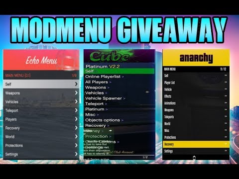 Mod menu giveaway - смотреть онлайн на Hah Life