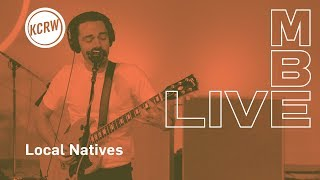 """Local Natives performing """"Vogue"""" live on KCRW"""