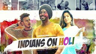 Every Holi Be Like | SahibNoor Singh  Ft. Chimkandi & Anicka