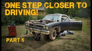 ABANDONED Muscle Car Revival! First Start in 35 years! -- Part 5
