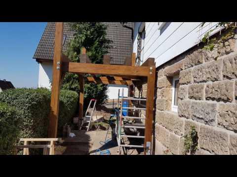 Projekt: Anstellbalkon in Holzbauweise - Balkon Holz Bausatz
