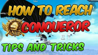 How to Reach Conqueror Rank Guide   Tips & Tricks and Strategy to WIN EVERY GAME! (PUBG MOBILE)