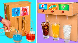 DIY Drinks Fountain Machines || Drink Your Soda With Style!