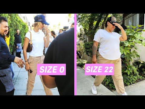 Plus Size People Wear Model Off-Duty Looks For A Week