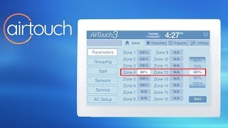 Balancing Ducted Air Conditioning with AirTouch