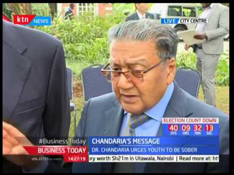 Philanthropist Manu Chandaria's message ahead of August poll