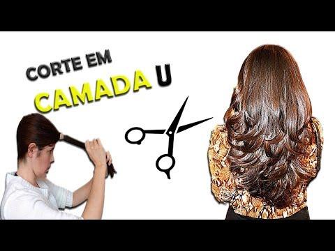 🌟 ✂ Como cortar o cabelo em CAMADA sozinha em U - Cut hair alone | DIY | Drica Pires