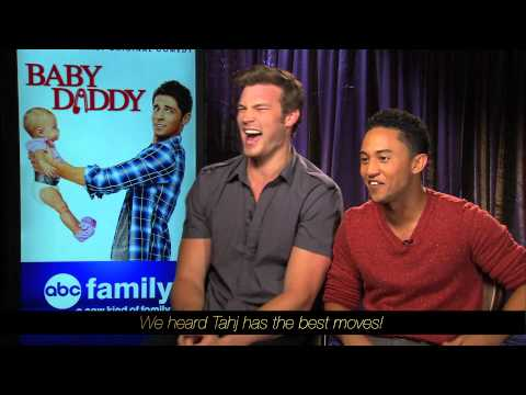 Derek Theler and Tahj Mowry   Baby Daddy   Baby Stories
