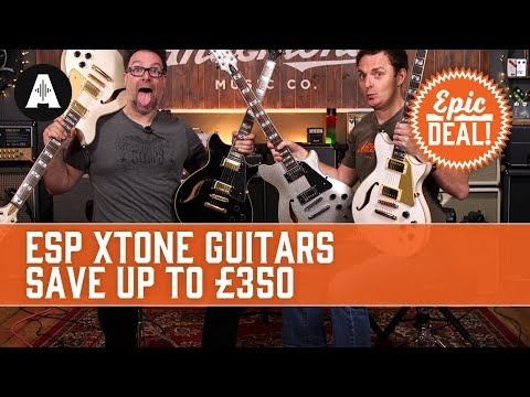 Up To £350 Off ESP Xtone Guitars - EPIC DEAL!