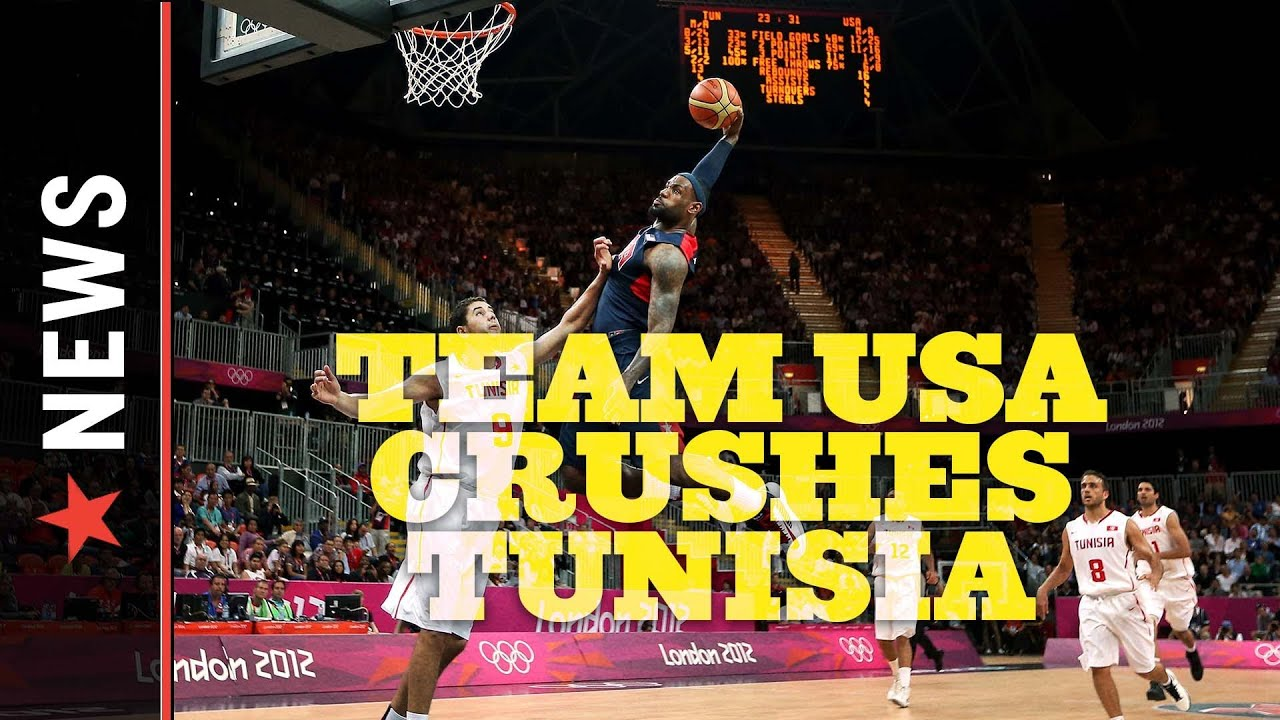 Team USA Basketball: After Trouncing Tunisia, USA Preps For Nigeria on Thursday thumbnail