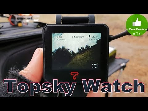 ✔ FPV Часы - Topsky FPV Watch 2 inch 5.8Ghz 48CH!