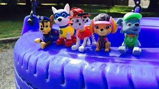PAW PATROL Playground Fun and LEARNING Counting and Colors for TODDLERS!