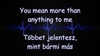 Justs - Heartbeat (Lyrics Video * angol/magyar)