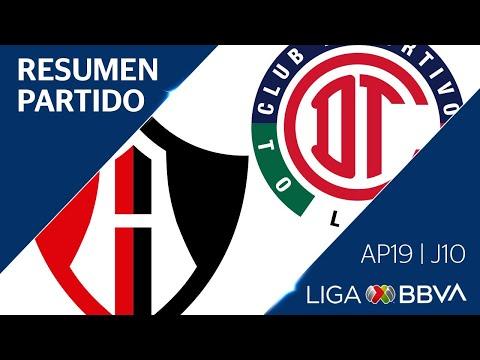 Resumen y Gol | Atlas vs Toluca | Jornada 10 - Apertura 2019 | Liga BBVA MX