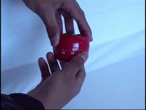 Timer / temporizador de cocina con diseño de tomate