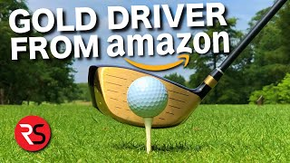 I bought this GOLD driver from Amazon....