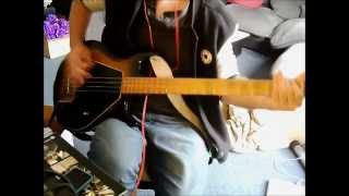 Anti Flag - I'd Tell You But - Bass Cover Gibson G3