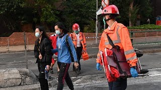 video: Chinese donations flood in for Hong Kong protest victims