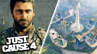 JUST CAUSE 4 NEW GAMEPLAY, MAP, VEHICLES & EXTREME WEATHER!