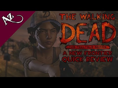 The Walking Dead - A New Frontier Quick Review (Season 3 - Episodes 1+2: Ties That Bind) video thumbnail