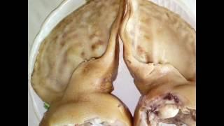Свенные уши в соевым соусе