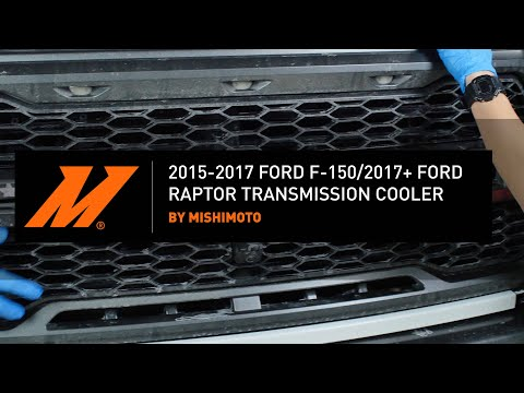 2015+ Ford F-150/Raptor Transmission Cooler Installation