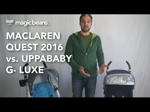 Maclaren Quest vs. UPPAbaby G-Luxe Most Popular | Comparisons | Reviews | Prices