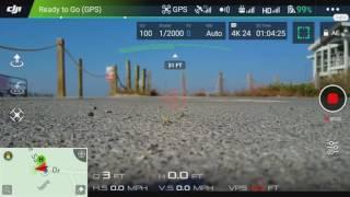 DJI Mavic Pro screen video