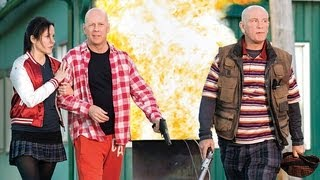 Bruce Willis and Mary-Louise Parker on Red 2