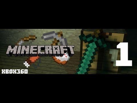 Играем в Minecraft на Xbox 360 Edition #1 | Начинаем ! [MrLololoshka,YFrostA,В гостях У Фроста]