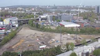 Brentford FC's new stadium time-lapse: The first 100 days
