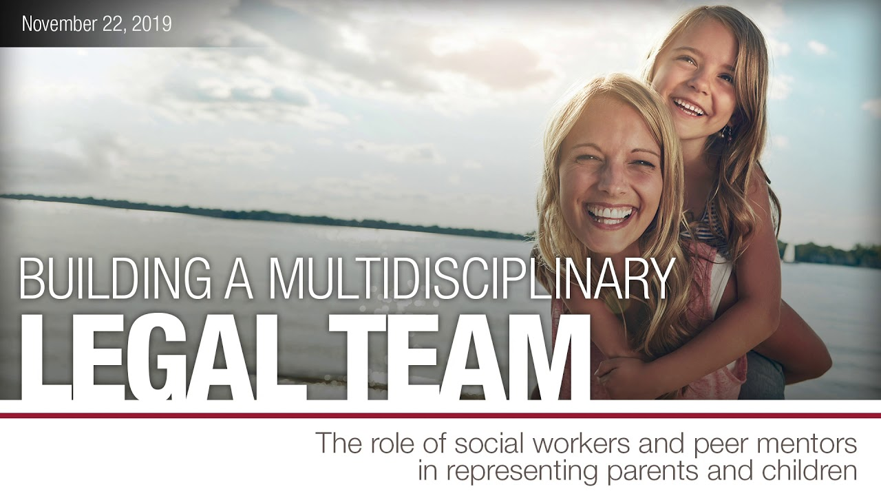 Building a multidisciplinary legal team