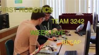 2019 Robotics: Week 5