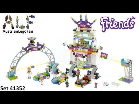 Vidéo LEGO Friends 41352 : La grande course