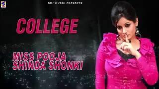 New Punjabi Songs 2016 | College | Miss Pooja | Shinda