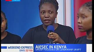 AIESEC IN KENYA: Group push for implementation of SDGs | Weekend Express