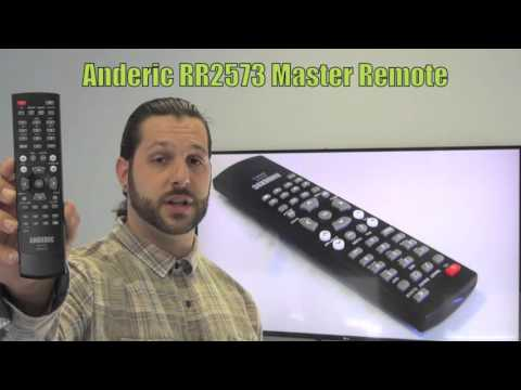 ANDERIC RR2573 Philips Master/Setup Commercial TV Remote Control