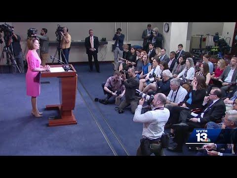 Trump-Pelosi feud leaves Jones calling for civil dialogue