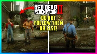 DO NOT Follow These Kids Down This Back Alley In Red Dead Redemption 2 Or This Will Happen To You!