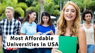 Cheapest Universities in USA 2020| Most Affordable Universities in USA|| University Hub