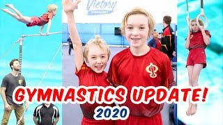 Gymnastics Progress #3  - Jacob and Parker Ballinger - February 2020