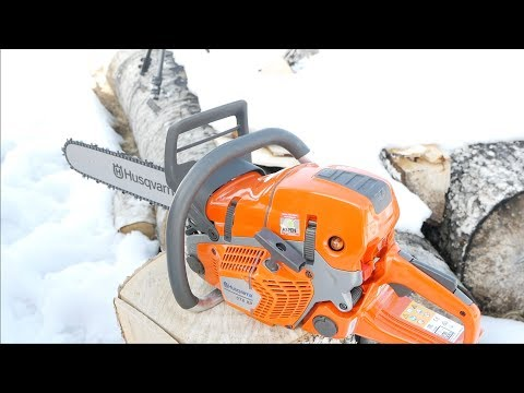 Husqvarna's NEW 572 XP Chainsaw – Review