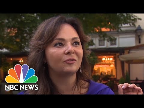 Natalia Veselnitskaya Ready To Testify Before U.S. Senate | NBC News