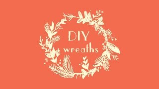 DIY CHRISTMAS GIFT TAGS · HOW TO PAINT A SIMPLE WREATH