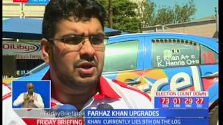 Farhaz Khan upgrades his rally car from an evolution 9 to 10 in preparation for circuit